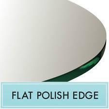 Superbe Flat Polish Glass Table Top Edge Atlanta