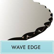 Wave Edge Glass Tabletop