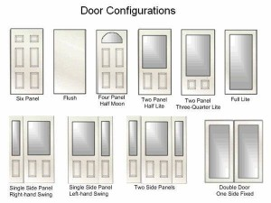 Glass Door Configurations