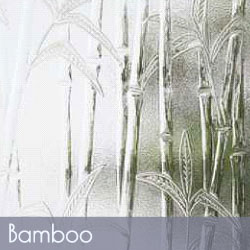 Bamboo Patterned Glass