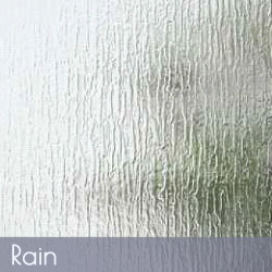 Rain Pattern Glass